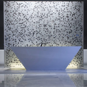 baño showroom Cerafino tiles